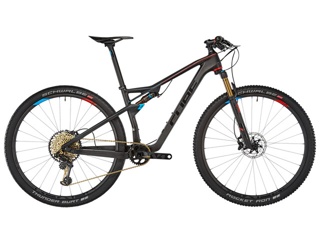 Cube AMS 100 C:68 SLT Mountain bike Full Suspension nero